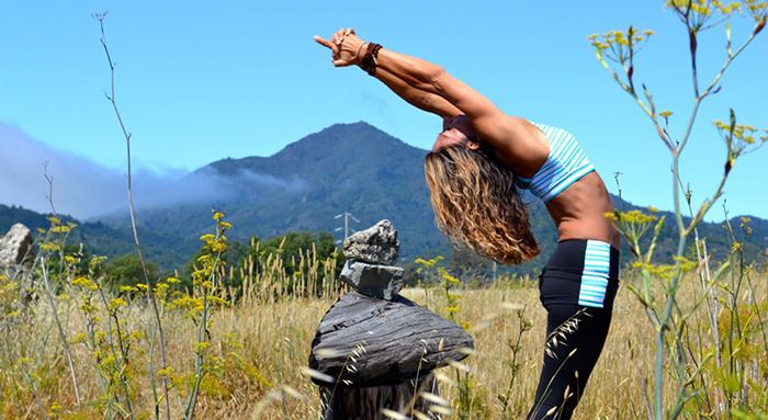 Dana Damara yoga teacher