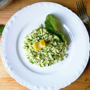 Spinach & Lemon Risotto