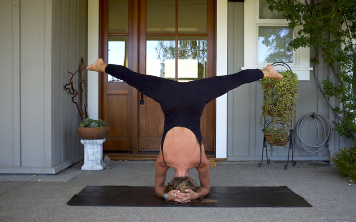 Home Practice Headstand