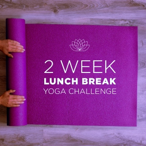 Sharpen Your Edge at Work with a 2-Week Lunch Break Yoga Challenge