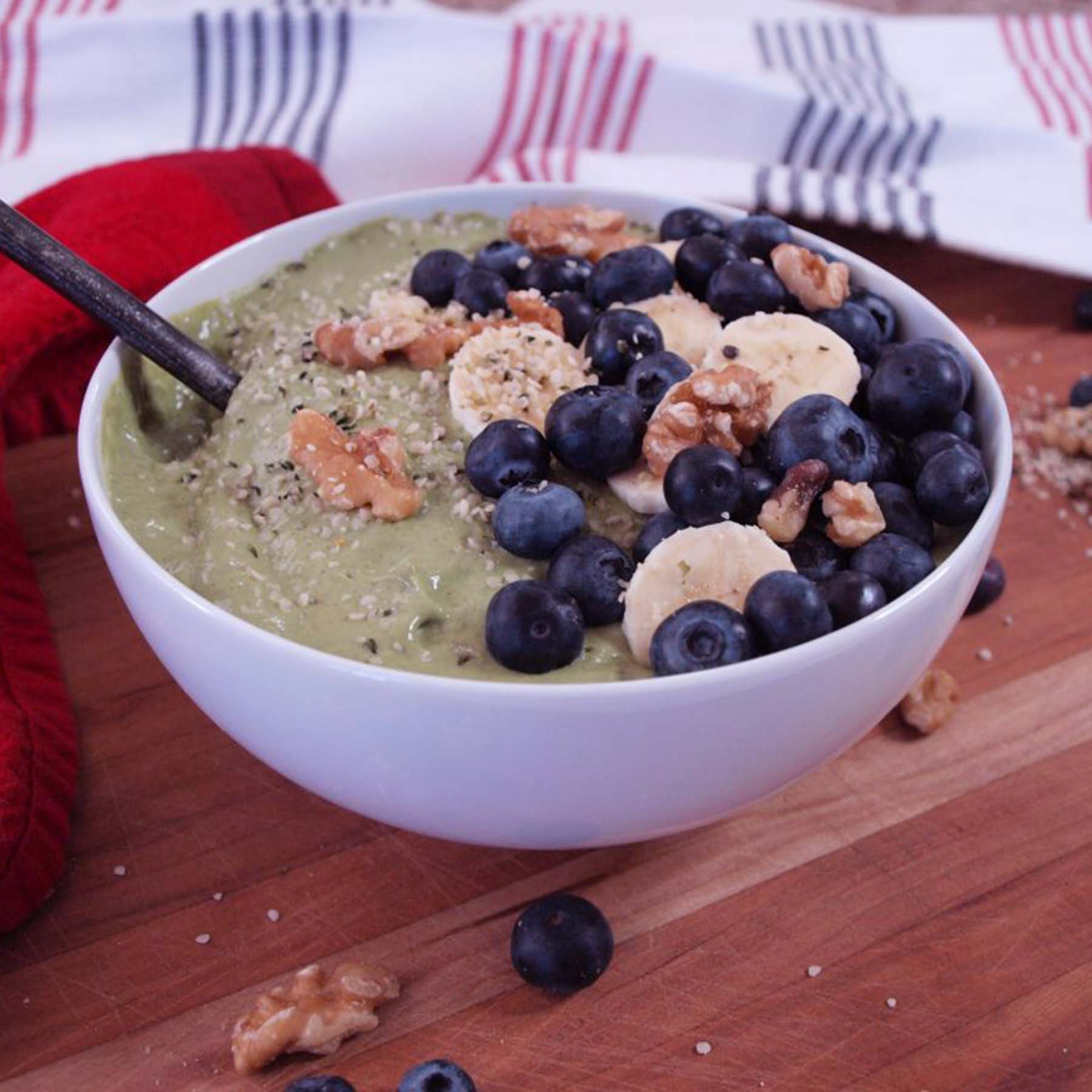 Brain Boosting Smoothie Bowl