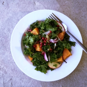 Kale & Sweet Potato Super Salad