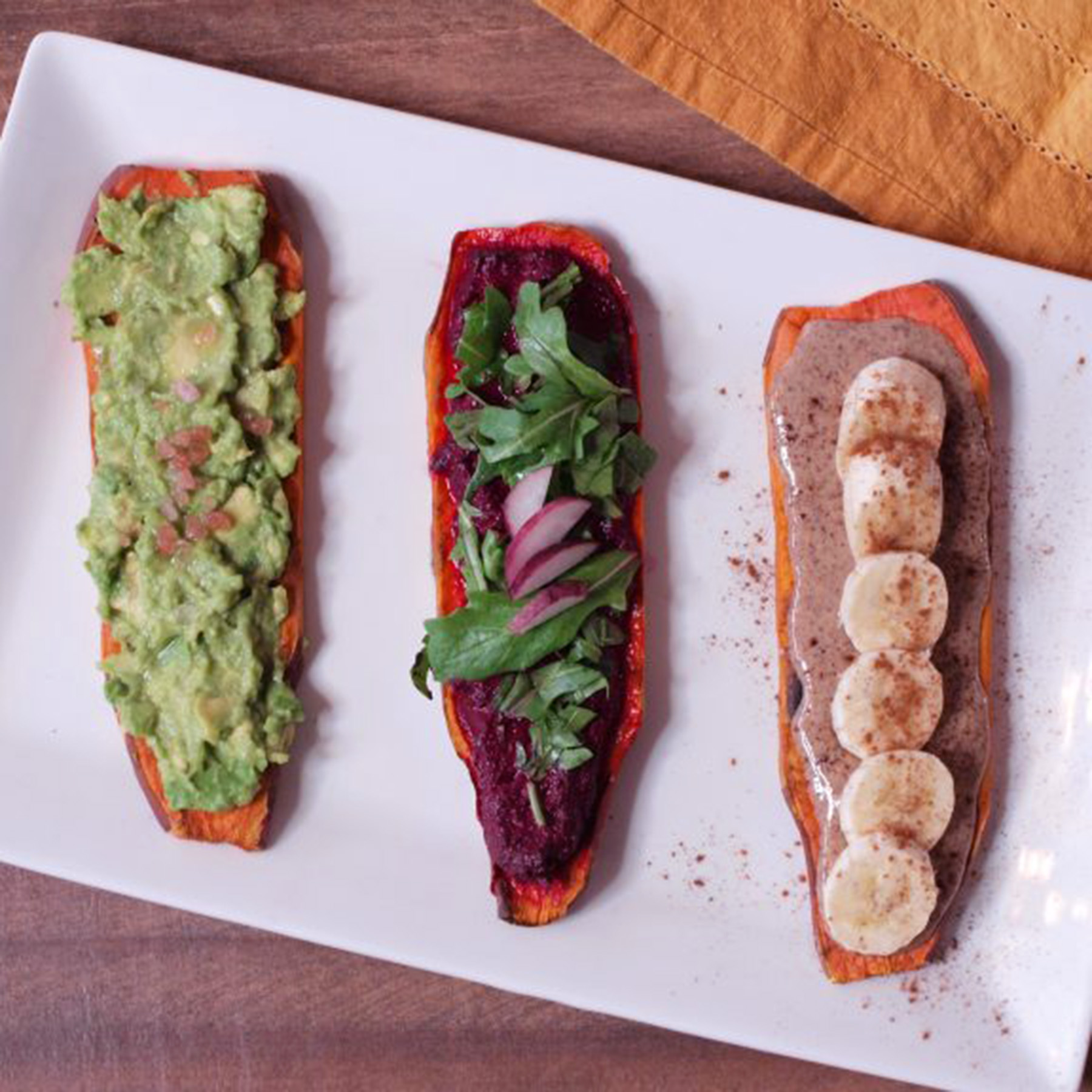 Sweet Potato Toast (3 Ways)!