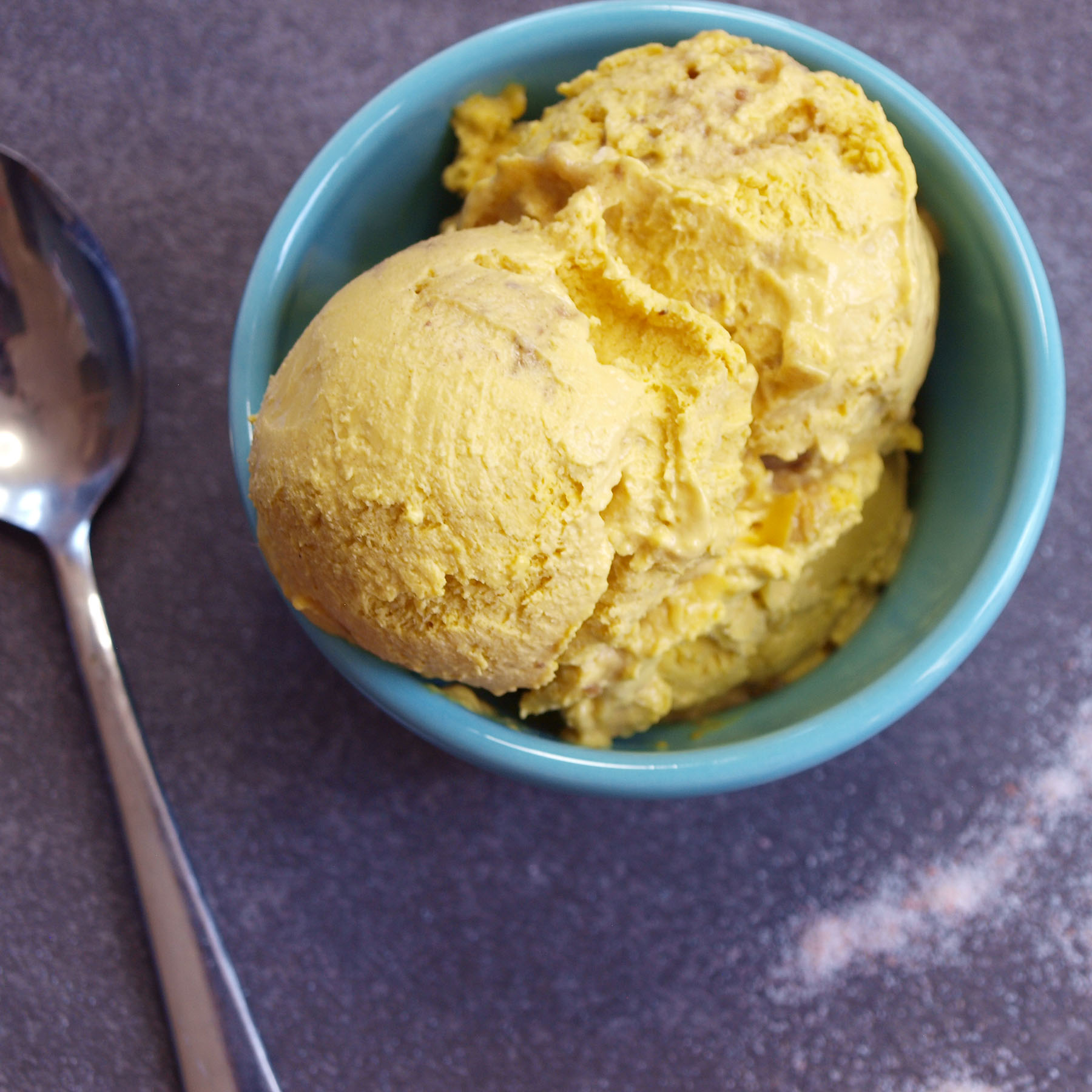 Vegan Sea Salt Caramel Ice Cream