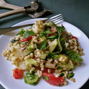 Simple Pearl Barley Salad