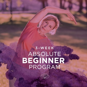3-Week Absolute Beginner Yoga Program for Inflexible People