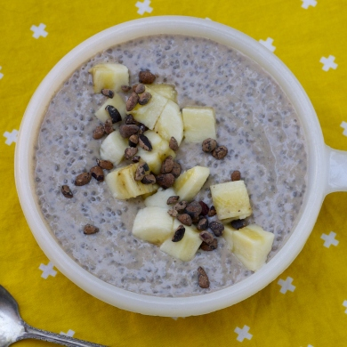 Creamy Banana Chia Pudding