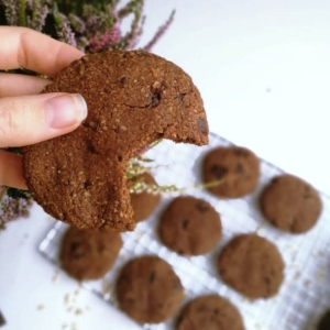 Healthy Sugar-Free Chocolate Cookies