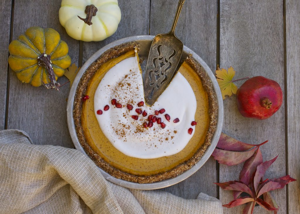 Nearly Raw Coco Nutty Pumpkin Pie