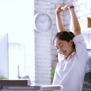 Best 9 Yoga Poses To Do At Your Desk