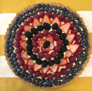 Sugar Free Vanilla Custard Fruit Tart