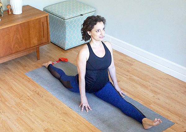 4 Propped Poses to Build Your Hanumansana