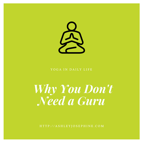 Why You Don't Need a Guru