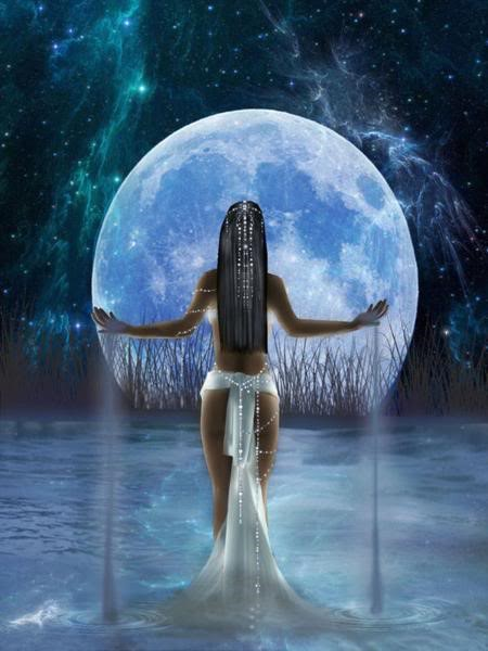 Virgo Full Moon (Monday - 2/22/16) : Harvesting the Wisdom of the Night Goddess