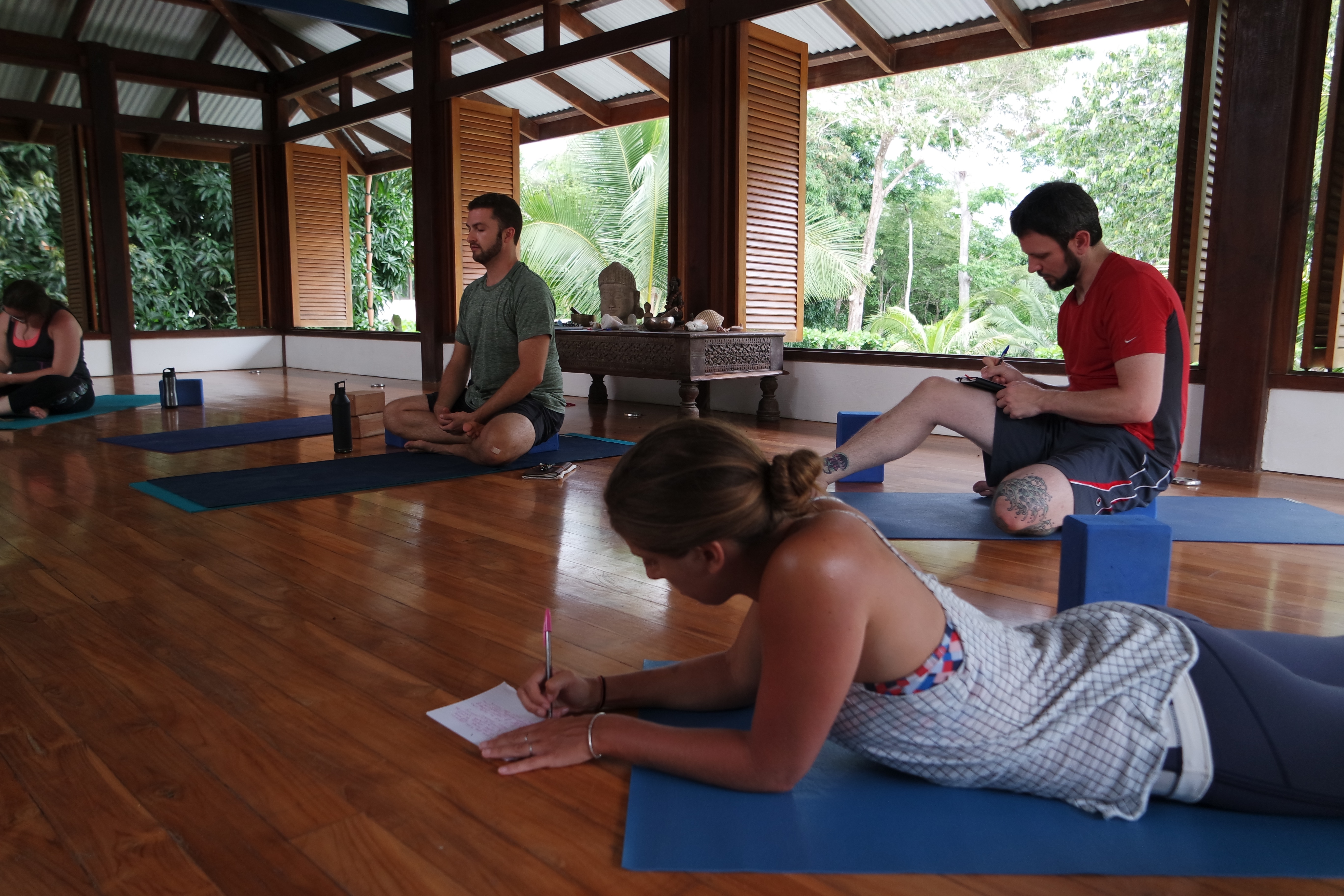 Canvas of Writing and Yoga