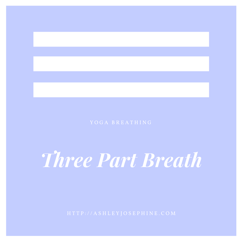 Yoga Breathing: The Three Part Breath