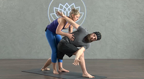 online yoga classes with arm balancing poses