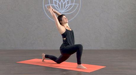feel good flow  online vinyasa yoga class with jackie