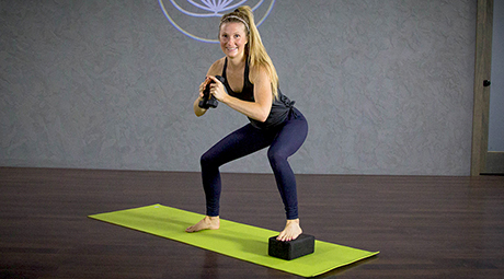 Online Yoga With Weights Videos And Classes Yogadownload