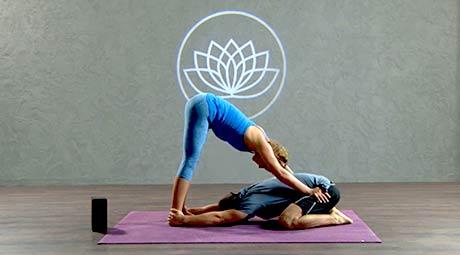 Partner Restorative Online Restorative Yoga Class With Channing Grivas
