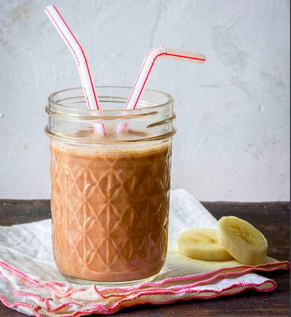 Mid-Morning, Pick-Me-Up Smoothie