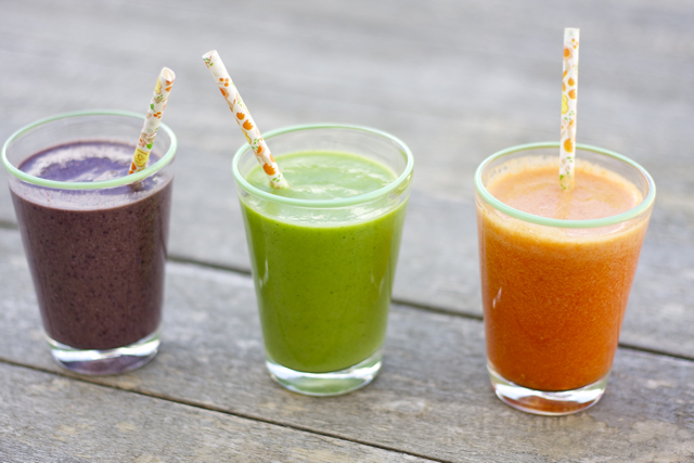 Recipe: Spring Smoothie Trio