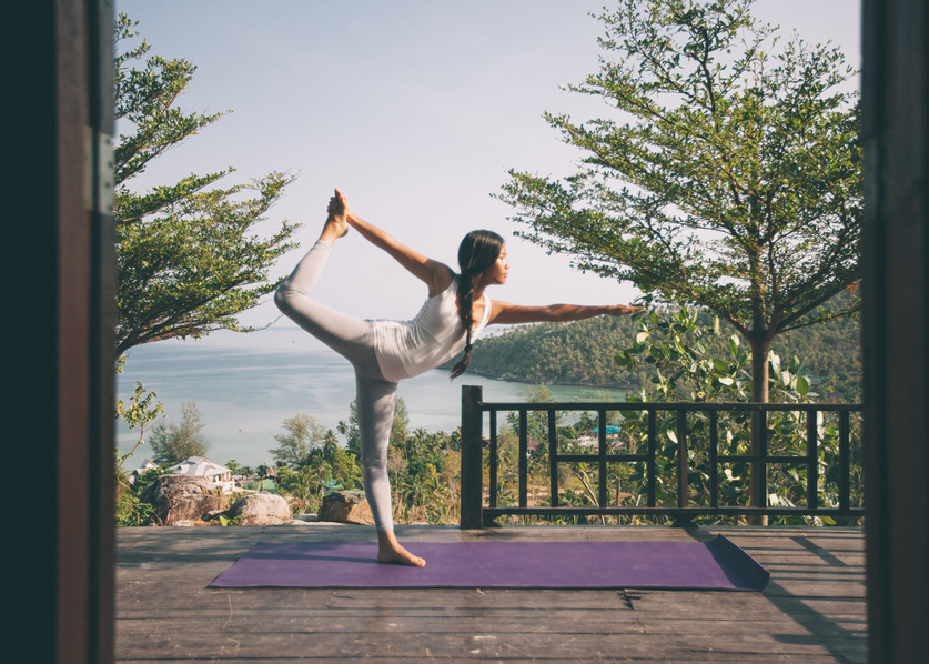 Featured Pose: Natarajasana or Dancer's Pose