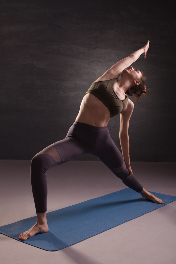 Featured Pose: Viparita Virabhadrasana or Reverse Warrior
