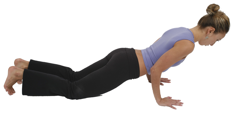 Yoga Poses And Names And Benefits Four-Limbed Staff Pose...