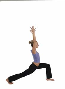 crescent lunge high lunge  pose guide
