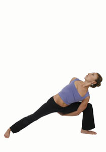 extended side angle  pose guide